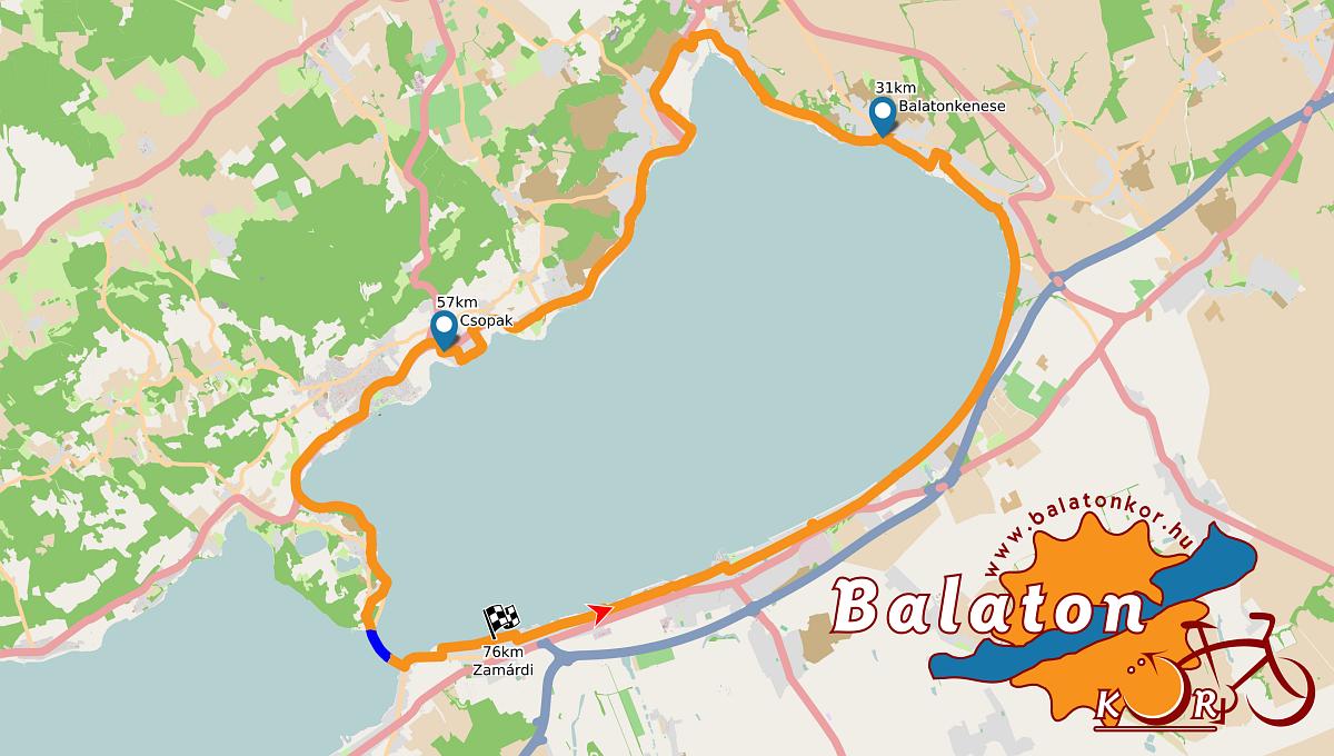 balaton kiskör térkép Balatonkör balaton kiskör térkép